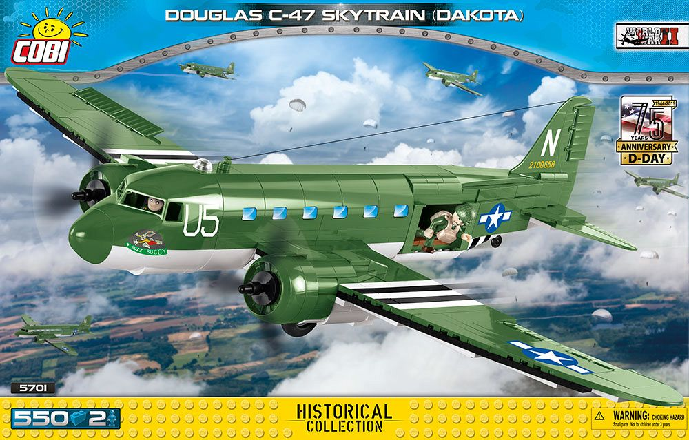 Douglas c-47 skytrain (dakota) d-day edition