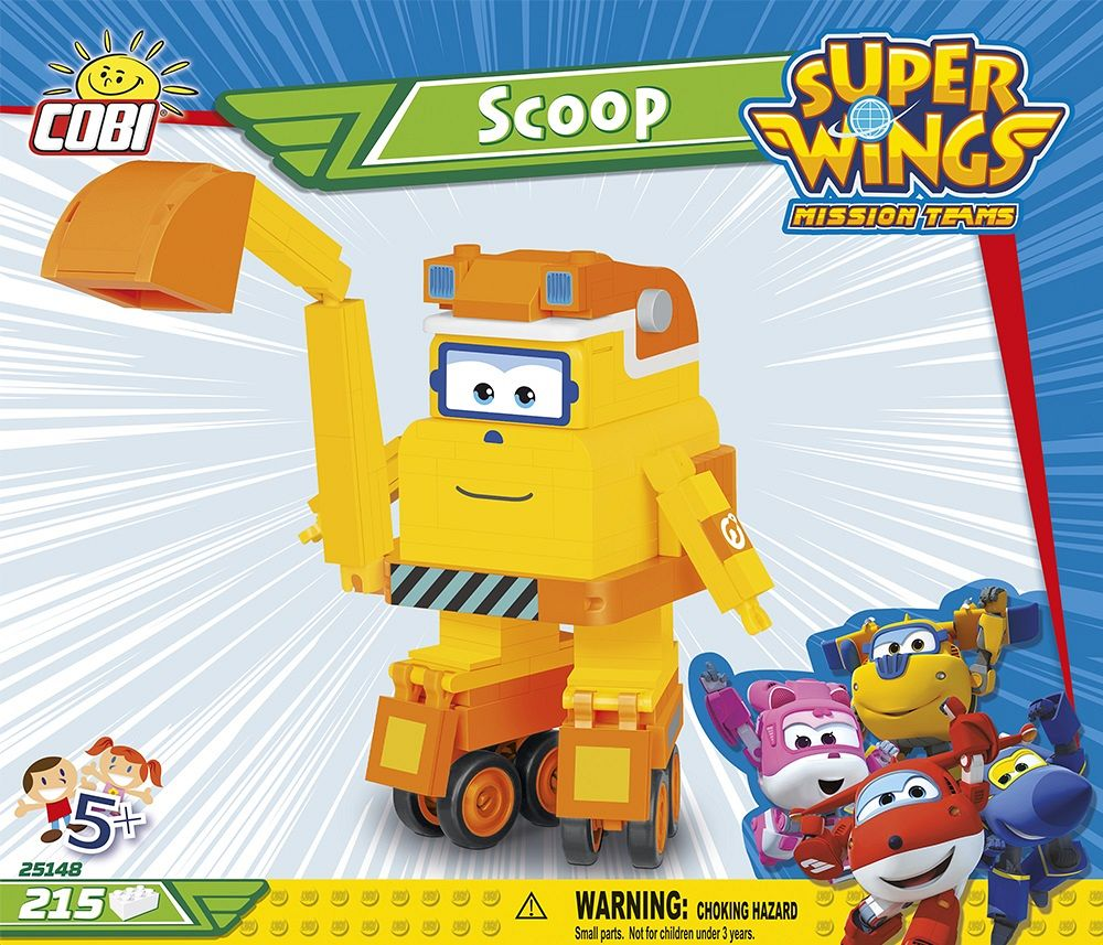 Scoop 215 kl. super wings