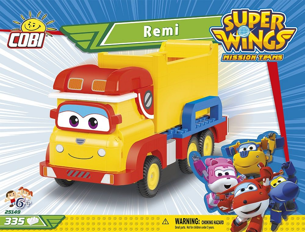Remi 335 kl. super wings