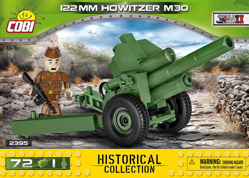 122 mm howitzer wz.1938 m-30 - radziecka haubica
