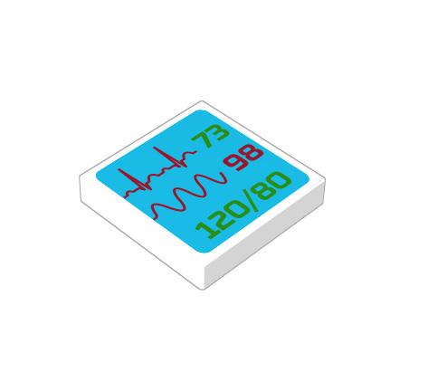 2x2 1/3 p³aski - medical screen