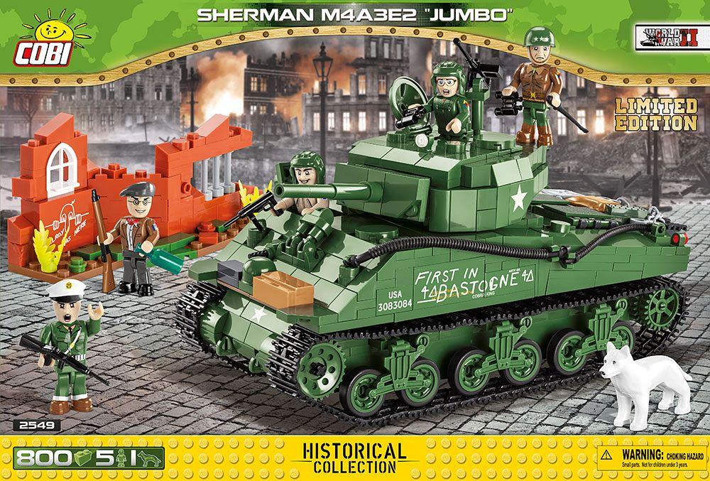 Sherman m4a3e2 jumbo - edycja limitowana