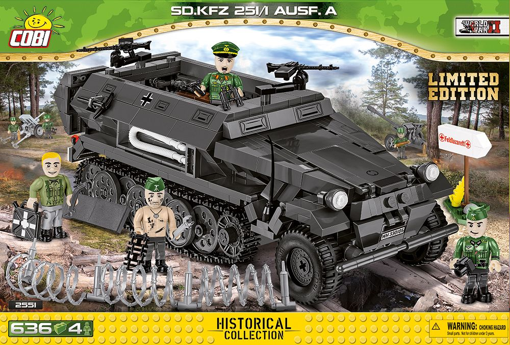 Sd.kfz.251/1 ausf. a - edycja limitowana
