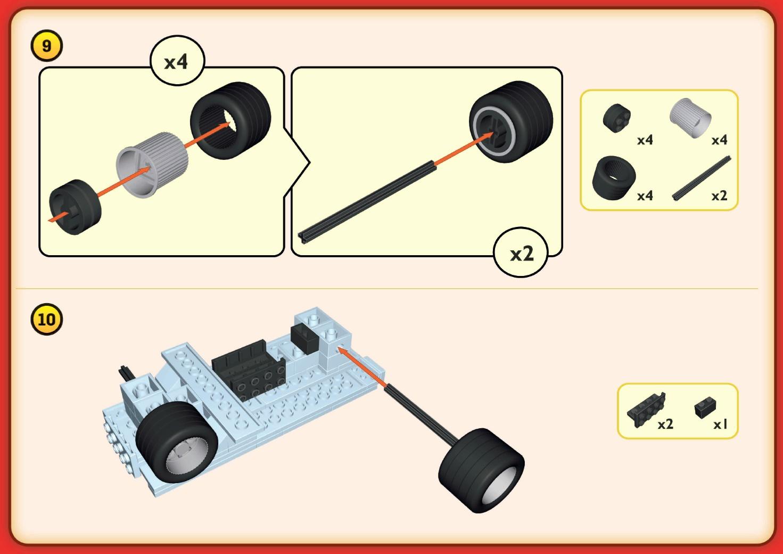 Ciarwka Biedronka COBI 01982 Instrukcja Skadania
