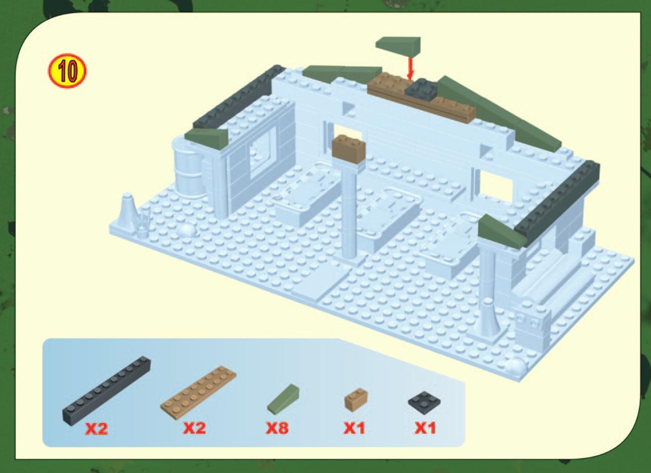 Szpital Polowy MASH COBI 24300 Instrukcja Skadania