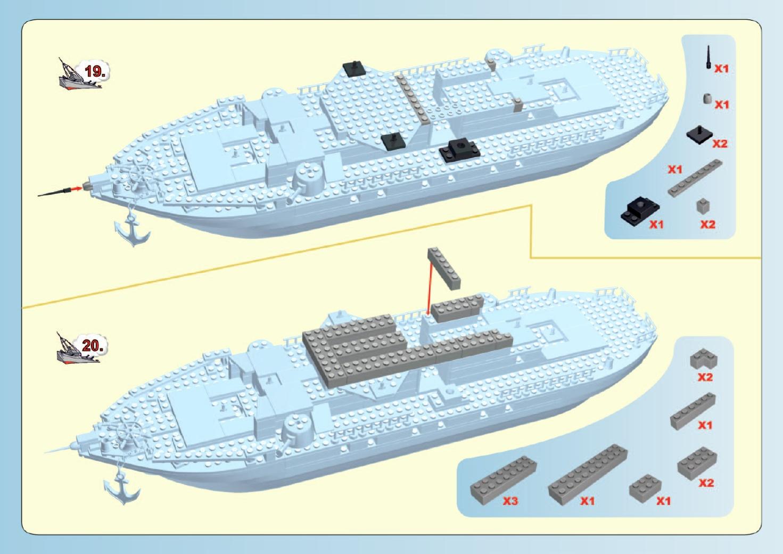 Battleship COBI 4702 Instrukcja Skadania